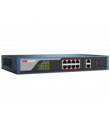 Веб-управляемый PoE Коммутатор HIKVISION DS-3E1310P-E
