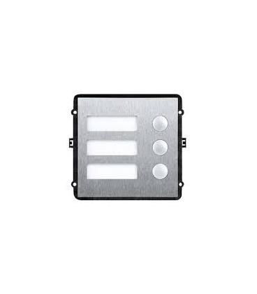 Модульный 3-х кнопочный модуль DAHUA VTO2000A-B