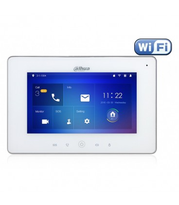 IP монитор видеодомофона DAHUA VTH5221D(W)