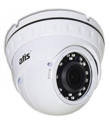 Видеокамера MHD купольная ATIS AMVD-2MVFIR-30W/2.8-12