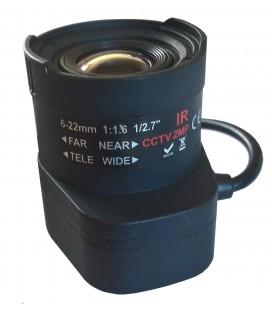 2 Мп вариофокальный объектив (6-22 мм) Videoxpert VXIR0622D