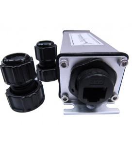CO-PE-S25-P104 Индустриальный PoE удлинитель