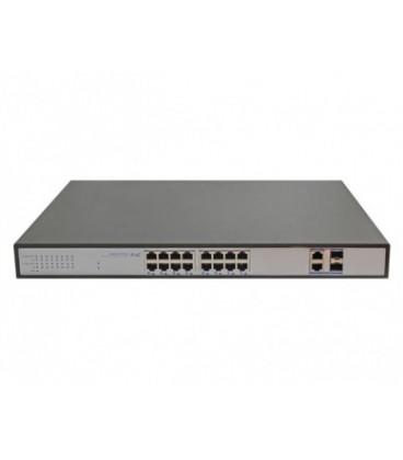 CO-SWP16F PoE коммутатор 16 портов