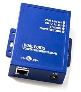Z-397 WEB - конвертер Ethernet/RS485 x2