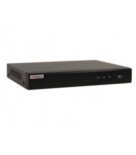 HiWatch DS-N308/2P 8-ми канальный IP-регистратор c 8-ю PoE портами