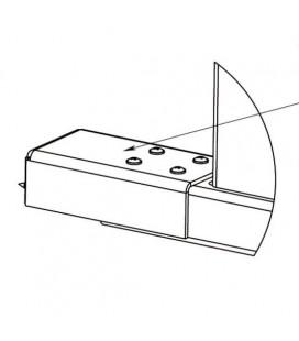 PERCo-RF01 0-07 Накладка нижняя для стыковки дополнительной секции ограждения