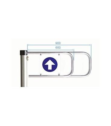 PERCo-ASG-900 Створка длиной 900 мм для стойки калитки PERCo-WHD-05