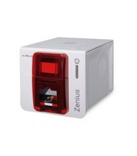 Evolis Zenius USB Принтер для односторонней цветной печати на пластиковых картах