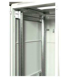 Шкаф телекоммуникационный напольный 18U (600x800) дверь перфорированная