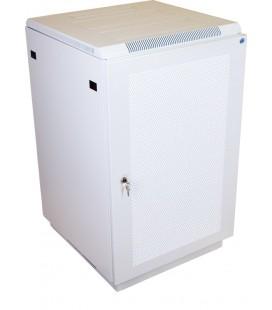 Шкаф телекоммуникационный напольный 27U (600x1000) дверь перфорированная 2 шт.