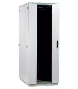 Шкаф телекоммуникационный напольный 47U (800х800) дверь стекло
