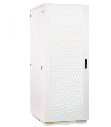Шкаф телекоммуникационный напольный 38U (800x1000) дверь перфорированная