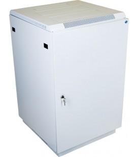 Шкаф телекоммуникационный напольный 27U (600x800) дверь металл