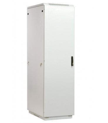 Шкаф телекоммуникационный напольный 42U (600x800) дверь металл