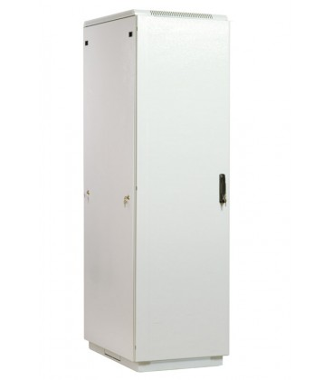 Шкаф телекоммуникационный напольный 38U (600x800) дверь металл