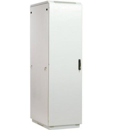 Шкаф телекоммуникационный напольный 42U (600x600) дверь металл