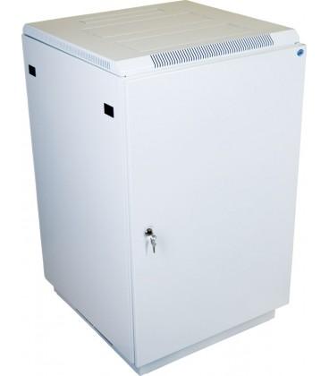Шкаф телекоммуникационный напольный 27U (600x1000) дверь металл