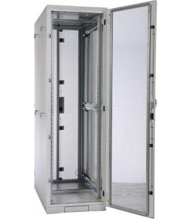 Шкаф серверный напольный 45U (600x1000) дверь перфорированная 2 шт.