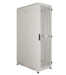 Шкаф серверный напольный 45U (600x1000) дверь перфорированная, задние двойные перфорированные