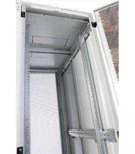 Шкаф серверный напольный 42U (600x1000) дверь перфорированная 2 шт.