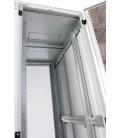 Шкаф серверный напольный 42U (800x1000) дверь перфорированная 2 шт.