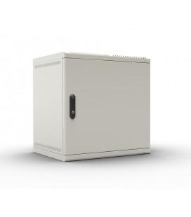 Шкаф телекоммуникационный настенный 6U (600х480) дверь металл