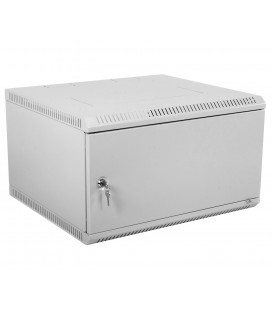 Шкаф телекоммуникационный настенный разборный 9U (600х520) дверь металл