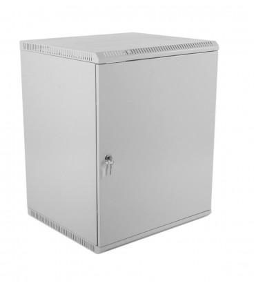 Шкаф телекоммуникационный настенный разборный 18U (600х520) дверь металл