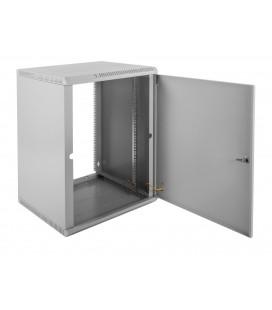 Шкаф телекоммуникационный настенный разборный 15U (600х350) дверь металл