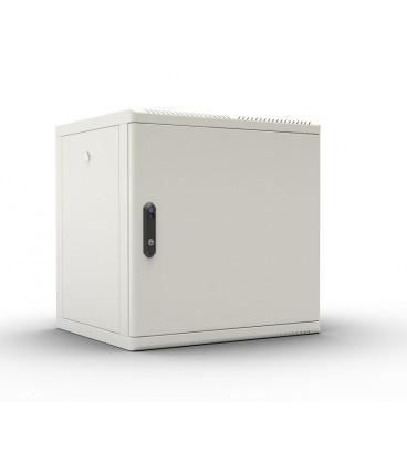 Шкаф телекоммуникационный настенный разборный 15U (600х520), съемные стенки, дверь металл