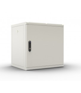 Шкаф телекоммуникационный настенный разборный 12U (600х520), съемные стенки, дверь металл