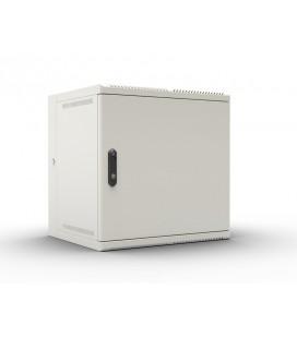 Шкаф телекоммуникационный настенный откидной 6U (600х520) дверь металл