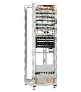 Стойка телекоммуникационная универсальная 24U двухрамная