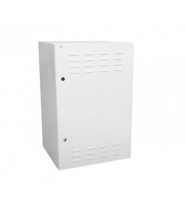 Шкаф уличный всепогодный настенный 12U (600х500), передняя дверь вентилируемая