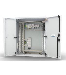 Шкаф уличный всепогодный настенный укомплектованный 12U (Ш600×Г300), полиэстер, комплектация T2-IP54