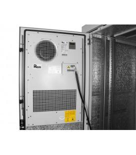 Шкаф уличный всепогодный напольный укомплектованный 24U (Ш700 × Г900), комплектация ТК-IP54