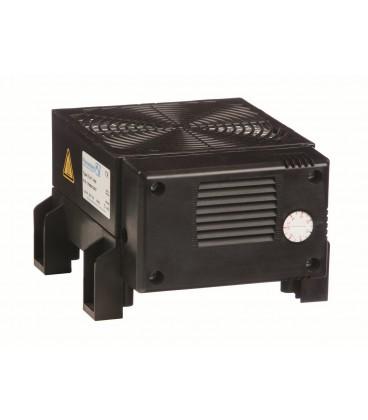 Нагреватель FLH-T 250 Pfannenberg 250 Вт с вентилятором и встроенным термостатом, 142х126х88, 230В клеммник