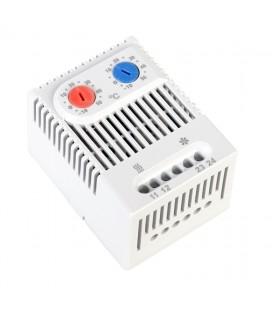 Терморегулятор (термостат) ZR 011 двойной для нагревателя (-10/+50С)