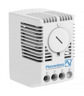 Сдвоенный терморегулятор (термостат) (замыкание/размыкание), 0..+60 °C, 230 В