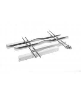 Комплект крепления усиленный на столб для шкафов ШТВ-Н