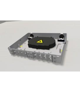 Оптический бокс (кросс) настенный, пенал, до 16 портов