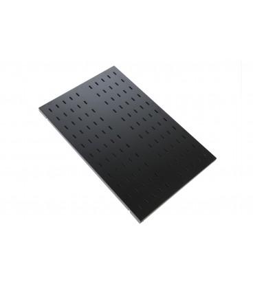 Полка перфорированная грузоподъёмностью 100 кг., глубина 1000 мм, цвет черн