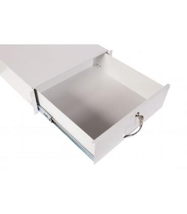 Ящик для документации 2U, цвет RAL7035 серый