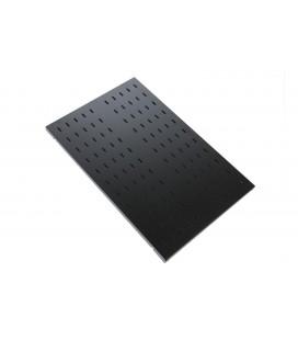 Полка усиленная для аккумуляторов, грузоподъёмностью 200 кг., глубина 620 мм, черная