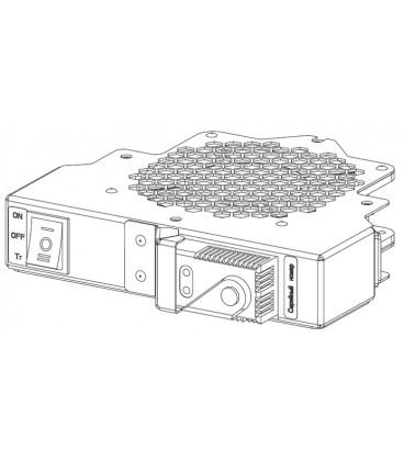 Модуль вентиляторный, 1 вентилятор с терморегулятором