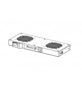 Модуль вентиляторный, 36-48 DC, 2 вентилятора с терморегулятором