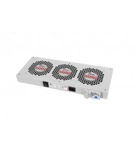 Модуль вентиляторный, 36-48 DC, 3 вентилятора с терморегулятором, колодка