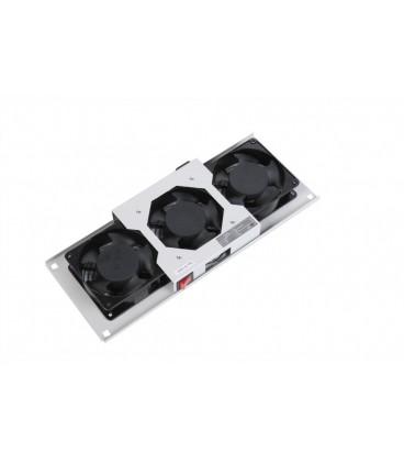 Модуль вентиляторный потолочный (170x425), 3 вентилятора с датчиком 35С
