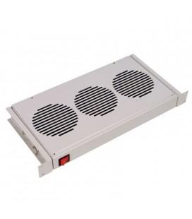 """Модуль вентиляторный 19"""" 1U, 3 вентилятора, регулируемая глубина 200-310 мм без датчика"""