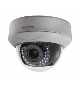 HiWatch DS-T207 2Мп внутренняя купольная HD-TVI камера